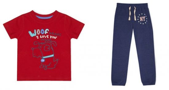 Comprar ropa de niño enero