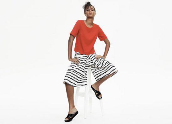 Bermudas y blusas de mujer