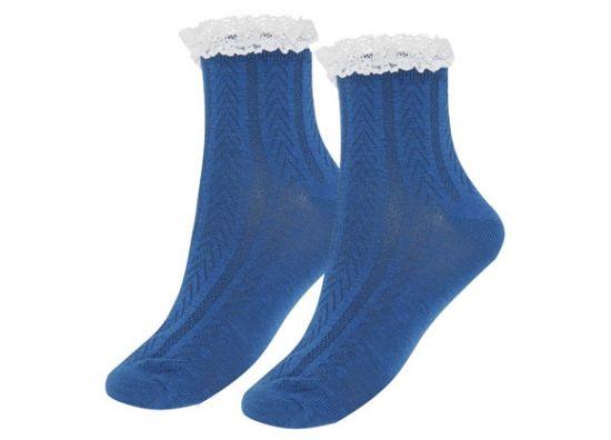 Hermosos calcetines encaje niña