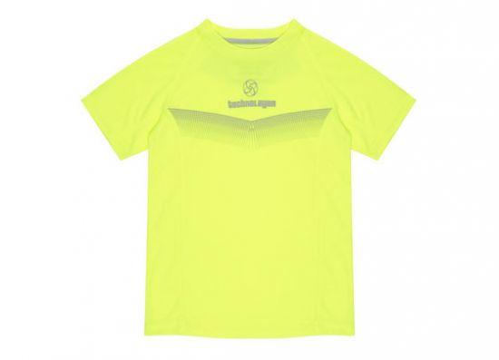 Fosforito amarillo camiseta de niño
