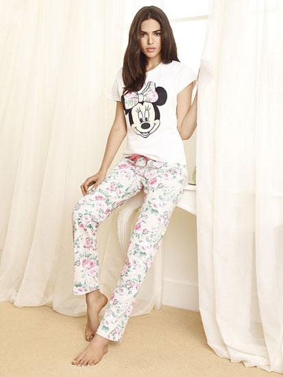 Minnie pijama de mujer