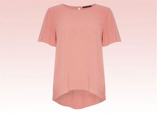 Blusa de mujer color coral