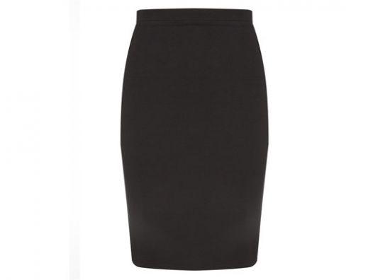 Primark falda tubular en negro