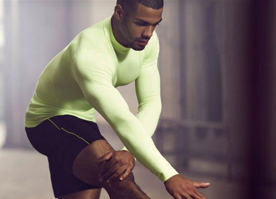 Diseño de ropa de hombre para deporte
