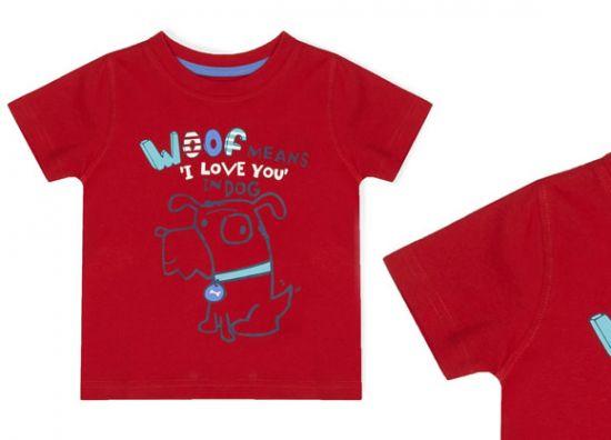 Primark camiseta de perro niño