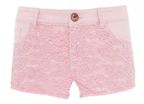 Short rosado diseño