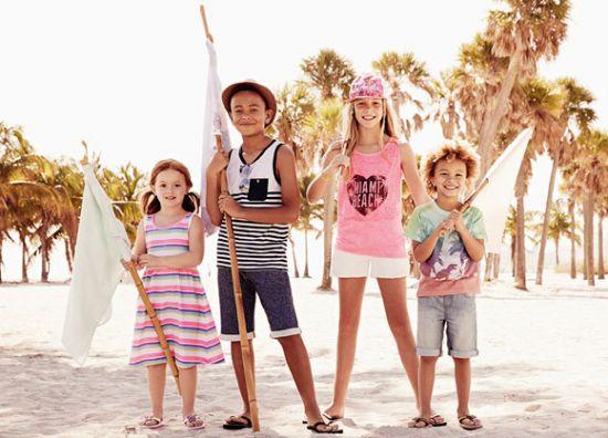 Looks de verano para niños y niñas