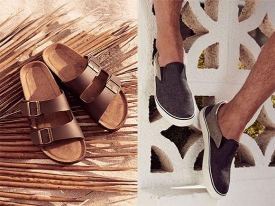 Zapatos para verano de hombre