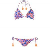 Bikini floral con estampado y detalles