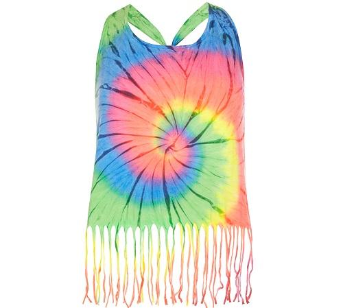 Blusa con estampados hippie