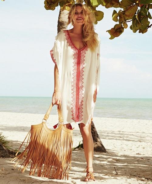 Vestido playa mujer primark