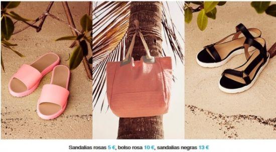 sandalias-bolso-color-rosa-y-negro-primark