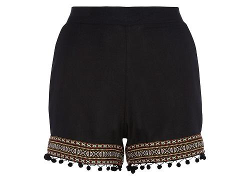 Shorts en negro