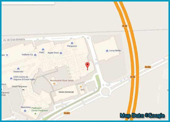 Mapa tienda Primark Madrid, Parque Sur