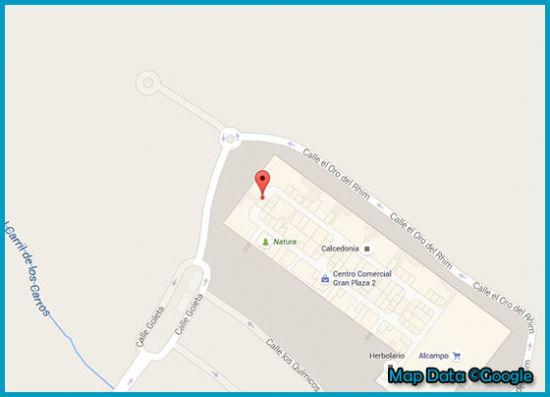 Mapa tienda Primark Majadahonda