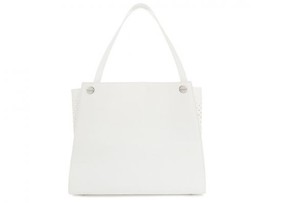 Bolso en color blanco