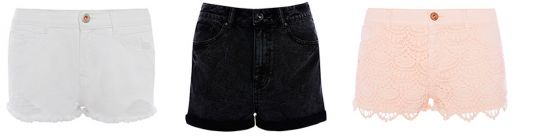 novedades-shorts primark