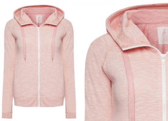 Sudadera Primark rosa con capucha