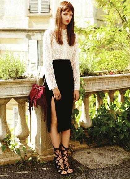Blusa, zapatos y faldas Primark