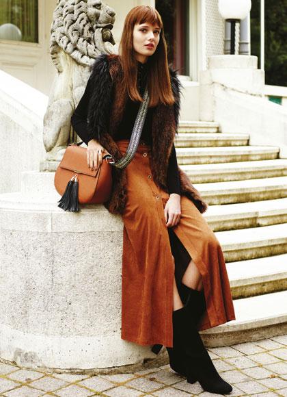 Look de otoño de mujer