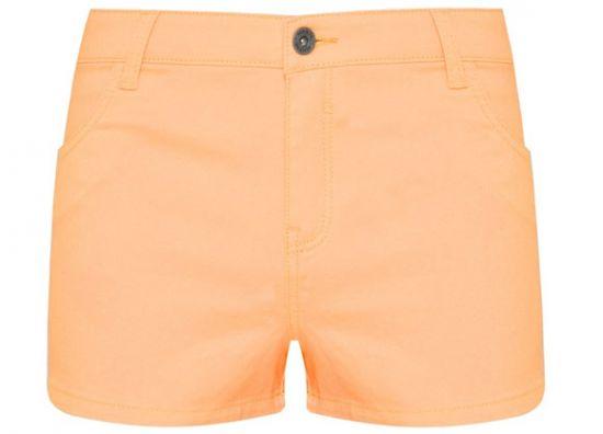 Short naranja Primark jean