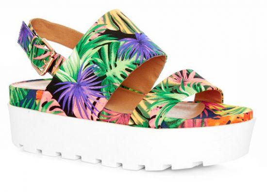 Sandalias tropicales Primark