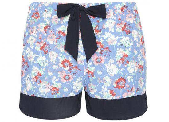 Pijama short de mujer estampado
