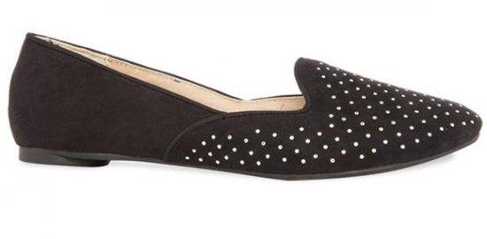 Primark zapatillas negro brillantes