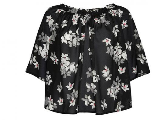 Blusas para damas con estampados de flores