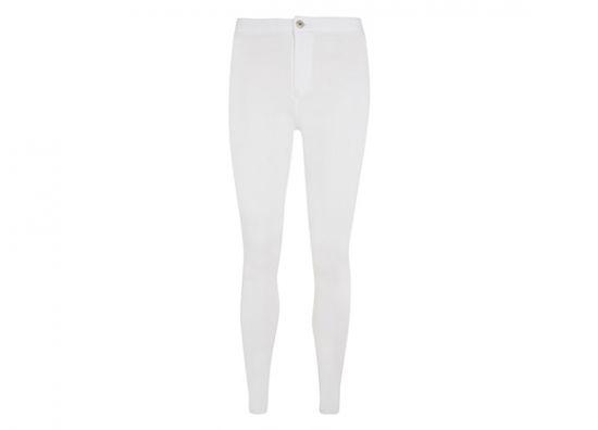 Pantalón skinny blanco