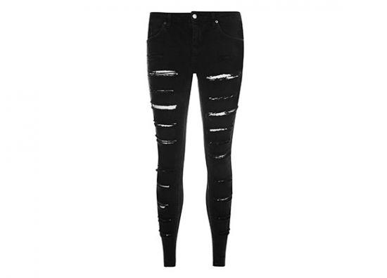 Jeans estilo punk