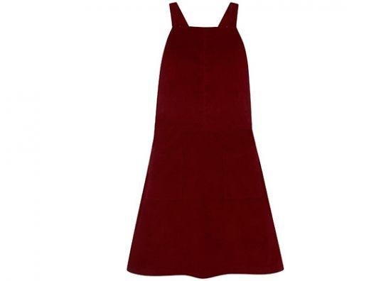 vestido rojo de gala