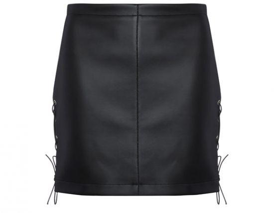 Simil piel Primark minifalda
