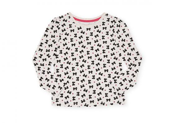 Camiseta para niña con estampado