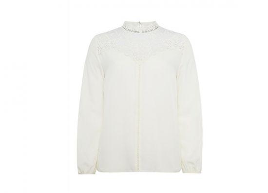 Blusa blanca glamour