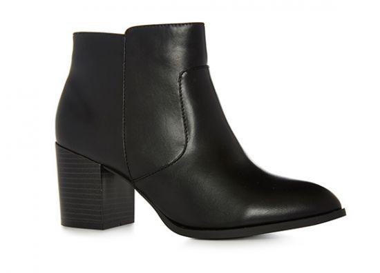 Botas Chelsea en color negro para mujer