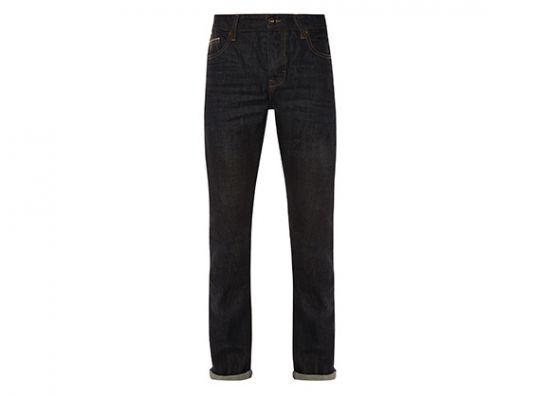Pantalón de mezclilla negro