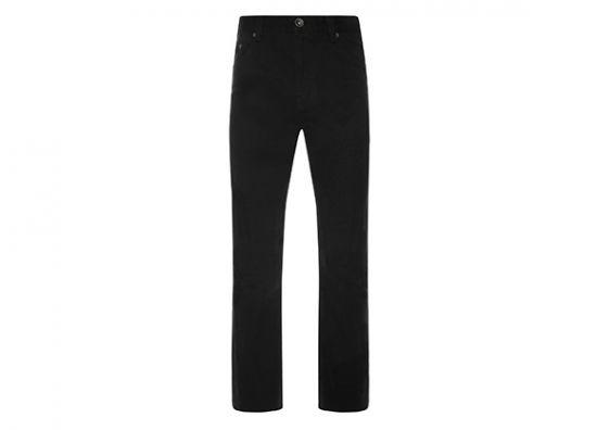 Pantalón en color negro para caballero jeans negro para hombre