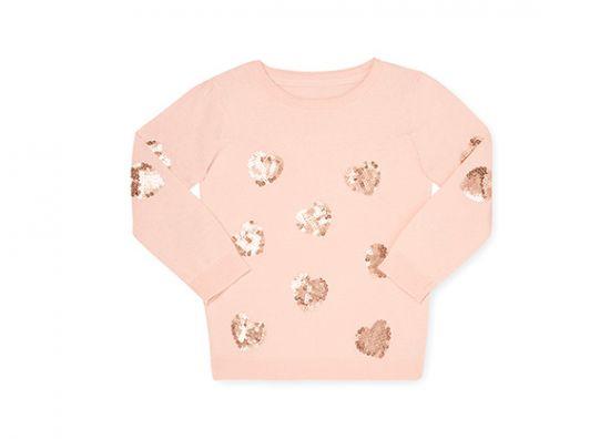 Suéter rosado para niña