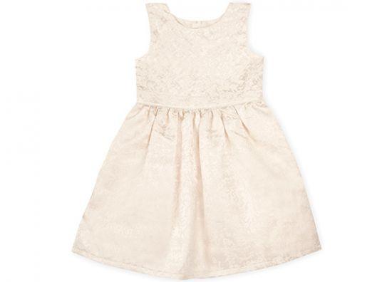 Vestido en color crema para niña