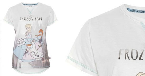 Camiseta de fan Frozen