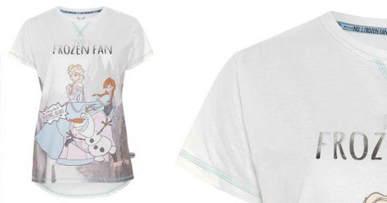Camiseta de fan Frozen