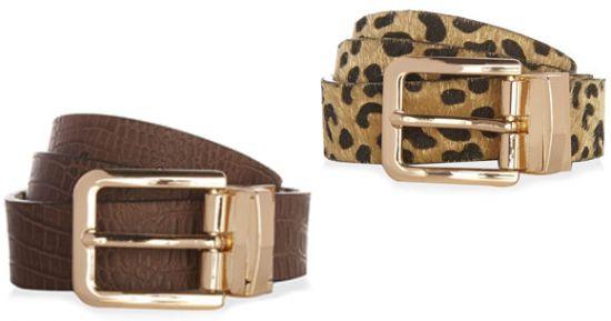 Cinturones de piel Primark