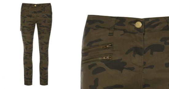 Pantalón de camuflaje
