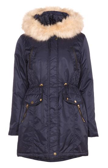 Primark parka sintética de abrigo