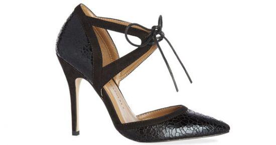 Zapato abierto mujer