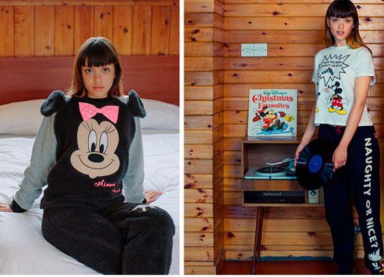 Pijamas de Mickey y Minnie