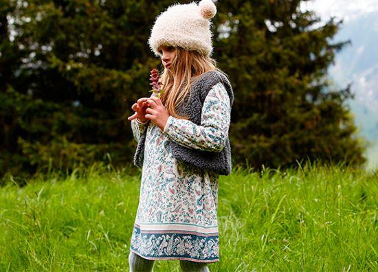 moda infantil estilo alpino