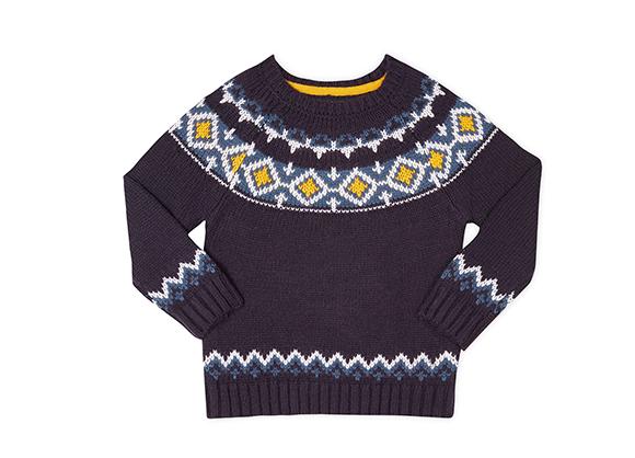 suéter decorado para niño