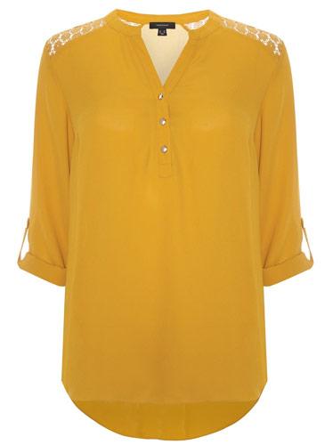 Primark blusa mostaza
